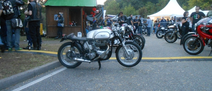 Glemseck 101 cafe racer 2014 motorcycle touring holiday