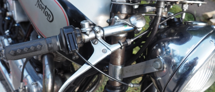 Guided motorcycle touring holiday to Glemseck 101 Cafe racer sprint