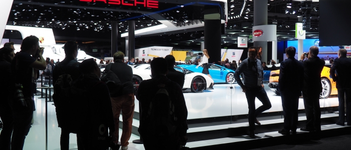 IAA International Automobile Austellung motor show Frankfurt Germany