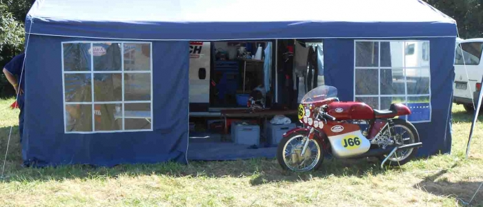 THE CRANKCASE. classic bike racing race races events bimota ducati hailwood replica