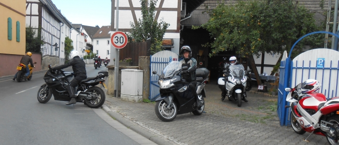 Motorcycle touring in Germany Europe guided all inclusive