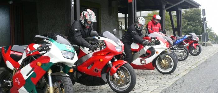 one week classic motorcycle guided tours holiday Germany Europe