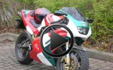 THE CRANKCASE. Bimota Db 2 SR tricolore rental hire motorcycle - first ride 2012 < Video >