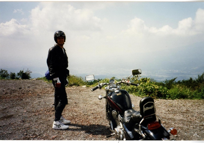 Guided motorcycle touring holiday in Europe contract motorcycle designer - First time to ride in Japan on the Izu Skyline