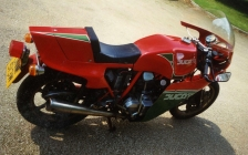 Ducati Mike Hailwood Replica MHR rental hire motorcycle touring holiday - just got it