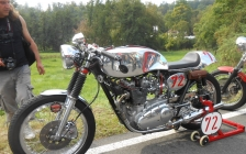 Glemseck 101 cafe racer 2014 motorcycle touring holiday -