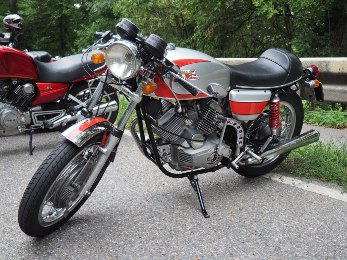 Motorcycle tour to Glemseck 101 Cafe racer sprint weekend -