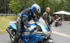 motorcycle tours Europe guests feedback testimonials and friends - Andrew, again x 2