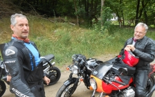 motorcycle tours Europe guests feedback testimonials and friends - Patrick, Stefan, Sam