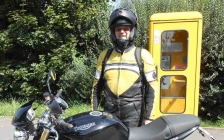motorcycle tours Europe guests feedback testimonials and friends - Günter