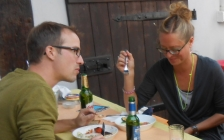 motorcycle tours Europe guests feedback testimonials and friends - Johanna and Christian
