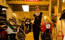 motorcycle tours Europe guests feedback testimonials and friends - Kate