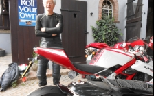 motorcycle tours Europe guests feedback testimonials and friends - Ken