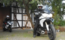 motorcycle tours Europe guests feedback testimonials and friends - Howard