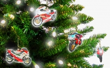 Motorcycle touring holiday and tours Europe classic bike and car events - Christmas 2012