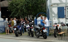 The crankcase bikers tea party classic superbike touring europe -