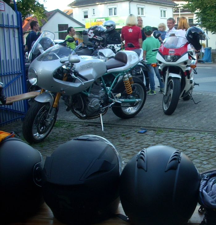 Motorcycle touring in Germany Europe guided all inclusive -
